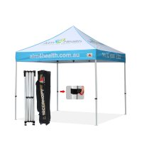 Custom 3x3 GAZEBO WORK SHELTER TRADE STAND POP UP TENT HEXAGON