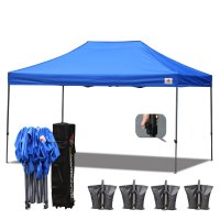 Royal Blue 3m x 4.5m Ez Pop up Canopy Instant Shelter Outdor Party Tent