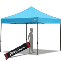 Abccanopy 3m x 3m Pop up Canopy Instant Shelter Outdor Party Tent Gazebo(Sky Blue)