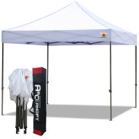 Abccanopy 3m x 3m Pop up Canopy Instant Shelter Outdor Party Tent Gazebo(White)