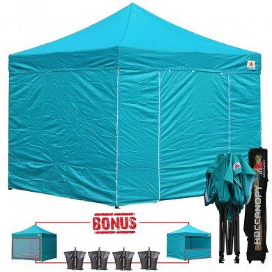 Turquoise 3m X 3m Pop Up Canopy Folding Gazebo W 6