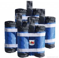 New Abccanopy Premium Instant Shelters Weight Bags - Set of 4 - Blue/black
