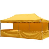 AbcCanopy 3m x 6m Deluxe Pop Up Canopy Trade Show Both W/ Wheeled bag
