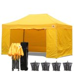 AbcCanopy 3MX4.5M Deluxe Gold Package Tent With Roller Bag