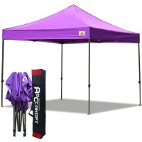 Abccanopy 3m x 3m Pop up Canopy Instant Shelter Outdor Party Tent Gazebo(Purple)