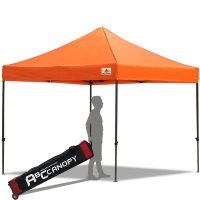 Abccanopy 3m x 3m Pop up Canopy Instant Shelter Outdor Party Tent Gazebo(Orange)