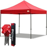 Abccanopy 3m x 3m Pop up Canopy Instant Shelter Outdor Party Tent Gazebo(Red)