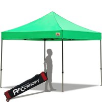 Abccanopy 3m x 3m Pop up Canopy Instant Shelter Outdor Party Tent Gazebo(Kelly Green)
