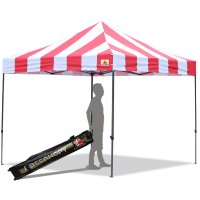 3M X 3M Carnival Ez Pop up Canopy Instant Shelter Outdor Party Tent Gazebo