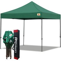 Abccanopy 3m x 3m Pop up Canopy Instant Shelter Outdor Party Tent Gazebo(Forest Green)