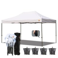 White 3m x 4.5m Pop up Canopy Instant Shelter Outdor Party Tent