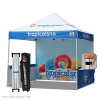 Abccanopy Custom Printed 3mx3m Pop up gazebo Market Stall Custom Marquees