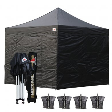 3x3 AbcCanopy PRO 40 Pop up Canopy Shelter Backyard Gazebo