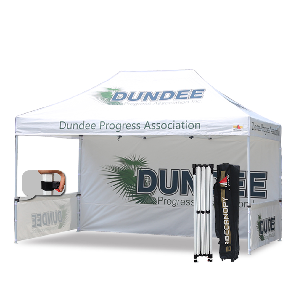 AbcCanopy 3MX4.5M Pop up Canopy Printed Custom Tent Booth