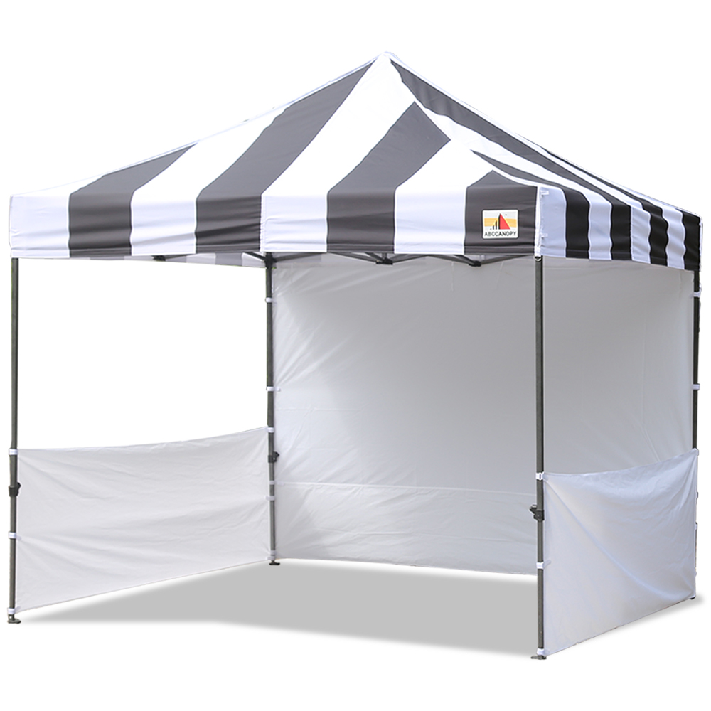 AbcCanopy Carnival 3x3 Black With White Walls Pop Up Tent