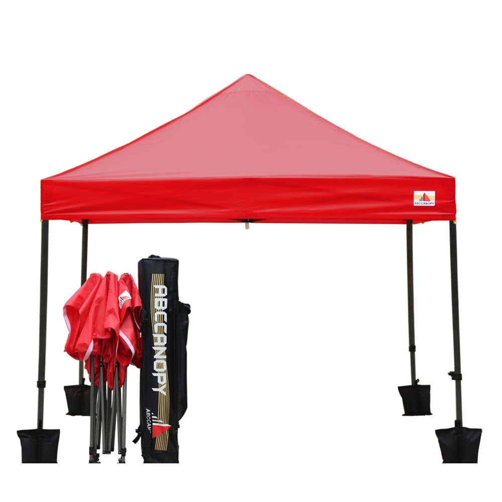Red 3m X 3m Ez Pop Up Canopy Instant Shelter Outdor Party