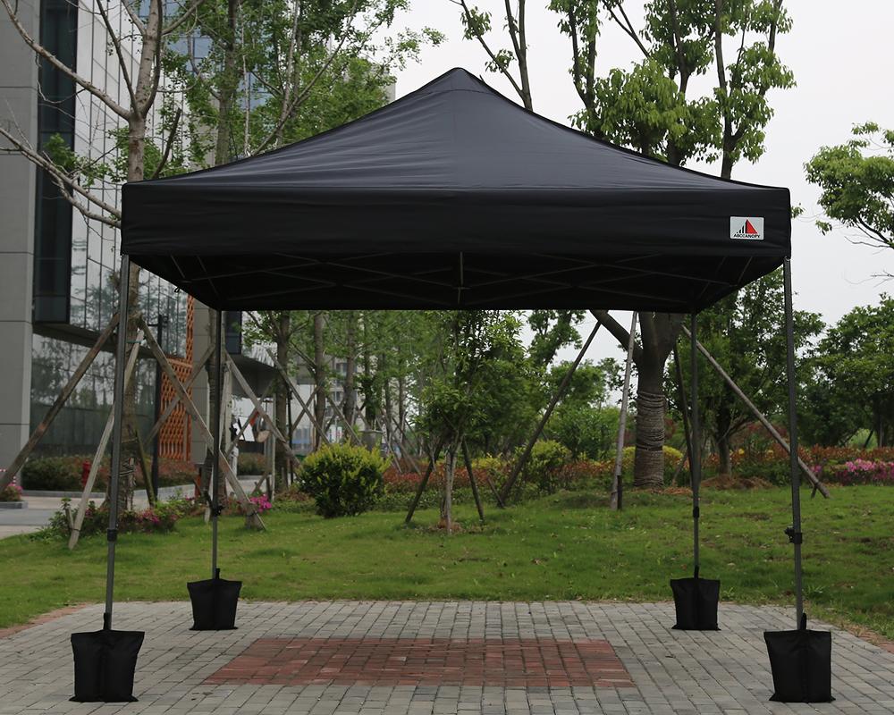 Black 3m X Ez Pop Up Canopy Instant Shelter Outdor Party Tent