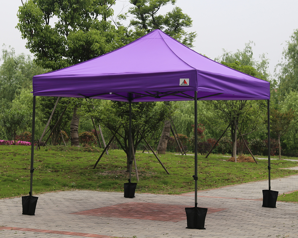 Pop Up Car Ports : Purple m pop up canopy instant shelter outdor party
