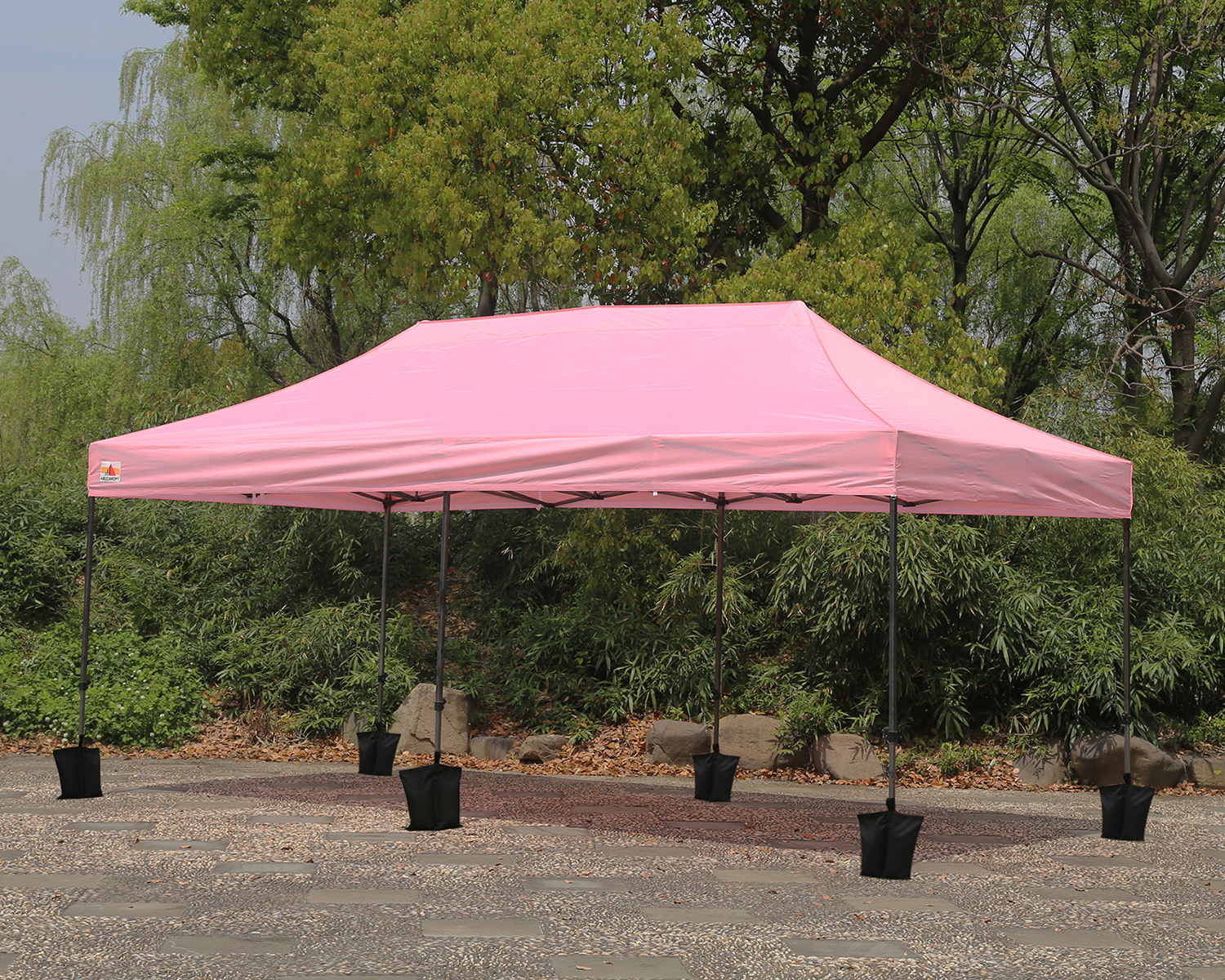 Pop Up Car Ports : Abccanopy m pop up canopy instant shelter outdor